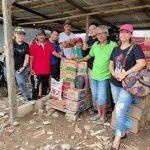 LA NKRI Buka Dapur Umum Bagi Korban Banjir di Rawa Buaya