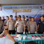 Kapolda Sumut Apresiasi Keberhasilan Polres Belawan Sikat Bandar Narkoba Antar Propinsi