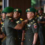 Mayjen TNI Andi Sumange Rukka S.E.M.M  Resmi Jabat Pangdam XIV /. Hasanuddin, Mayjen TNI Surawahadi  S.I.P jabat  Korsahli Mabes TNI AD