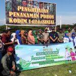 Kodim 1424/ Sinjai Tanam pohon Bersama Forkopimda laksanakan Program pemerintah pusat