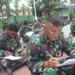 Kodim 1407/Bone Laksanakan Latihan UTP ,Ukur kemampuan Prajurit