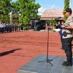 Kapolres Sinjai pimpin upacara HUT Satpam  ke 39 Kabupaten Sinjai