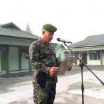 Awali Minggu Militer Januari Kodim 1002/ Barabai gelar Upacara bendera