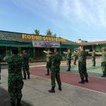 Pasi Ops Kodim 1407/Bone pimpin Apel , Untuk tingkatkan kedisiplinan Prajurit