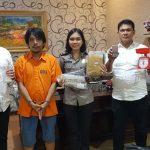 ZA Bandar Narkoba Dan Ganja diamankan  Polsek  Medan Baru