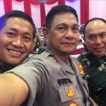 Kapolda Sulsel, Pangdam XIV Hasanuddin, Pangkoops AU II sangat kompak Dan solid Saat Rapim TNI-POLRI