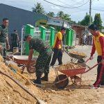 Jalin Sinergitas TNI-POLRI, Pemerintah Daerah Dan warga masyarakat , Danramil 07/TR kodim 1407 /Bone Turunkan Pasukannya