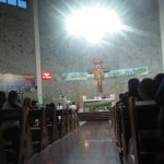 Umat Gereja Katolik Santo Gabriel Nunukan Melaksanakan Misa Pembukaan Awal Tahun