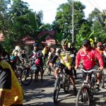 Gobar komunitas MTB eratkan Silahturahmi 100 peserta tempuh jarak 30 km