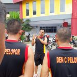 Brimob Yon C Pelopor Bone laksanakan Tes kesamaptaan untuk Cek fisik Anggota