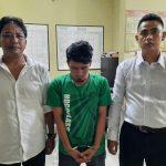 Diciduk miliki Sabu  pegawai honorer Diamankan Polsek datu bandar  Polres Tanjung balai