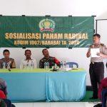 Kapten inf Andi Tiro, masyarakat Jangan Sampai terpapar Paham Radikal