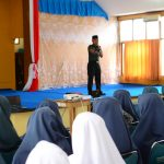 Dandim 1407/Bone kunjungi Sekolah Dan pesantren Beri Pemahaman Santri/Santriwati wawasan kebangsaan