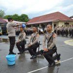 75 Siswa SPN Polda Sulsel Latker Di Mapolres Palopo, Wakapolres Sampaikan pesan kapolres Palopo
