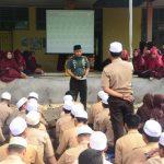 Lakukan silahturahmi kebangsaan dia SMA negeri 18 , Dandim 1407/ Bone beri motivasi Ke Semua Siswa/Siswi