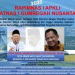 Rapimnas 1 APKLI & Silatnas 1 GUMREGAH NUSANTARA 2020  Siap digelar Lombok Mataram NTB 27-29-Maret 2020