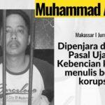Komite keselamatan Jurnalis mengecam Pemidanaan Jurnalis HarianSoloRaya Com ,Muh Asrul Dengan Pasal ujaran Kebencian