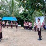Serda Wahyu Arip Sasmito buka PERJUSA SMA  3 HST