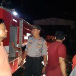 Kebakaran Kompleks Pasar sentral Sinjai   24 Ruko terbakar  , 6 orang petugas Damkar Masuk Rumah  Sakit , Kapolres Pimpin langsung pengamanan Saat kejadian