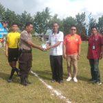 Kejuaraan Sepak Bola Mini Kapolsek Liliriaja Cup III, Resmi dibuka Oleh Camat Liliriaja Soppeng