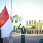Upacara bendera Awali Minggu Militer kodim 0104/Aceh Timur