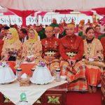 Kapolres Sinjai bersama ibu Ketua Bhayangkari hadiri puncak Peringatan HJS ke 456  tahun 2020