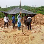 Belum Dapat Ganti Rugi,,, Warga Kampung Gurimbang Duduki Lahan Masing-Masing