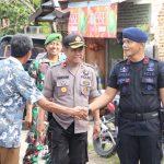 Brimob C Pelopor patroli ke desa desa Rawan  Pilkades Bulukumba