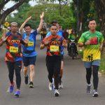 Kolonel inf Suwarno S.A.P Danrem 141/ Tp ikut lari bersama Para Runnes di LAPATAU BONE FUN RUN 5K & 10K  2020