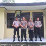 Dalam kunjungan kepolsek Bulupoddo , Kapolres AKBP Iwan Irmawan S.Ik selain Cek Kesiapsiagaan personel  juga berikan motivasi