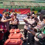 TNI -Polri Bersama stakeholder HST lakukan Kerja bakti Antisipasi penyebaran Virus Corona
