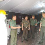 Danrem 141/Tp Cek kesiapan Ruang Rawat Isolasi Covid-19 RS Dr Muh Yasin BONE