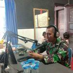 Narasumber Bincang santai live Radio SBB FM,Dandim 1407/ Bone, Cegah Covid-19.