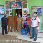 PSMTI dan Yayasan Marandang Berikan Bantuan Bilik Disinfektan