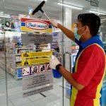 Indomaret Bone Peduli Covid-19, Bersihkan Toko jaga kesehatan konsumen