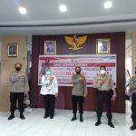 Kapolres Sinjai pimpin Anggotanya Donor Darah ditengah pandemi Covid-19