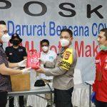 Kapolda Sulsel bersama PT Bintang serahkan Bantuan 1000 Alat Rapid tes Covid-19 ke PMI dan IDI Makassar