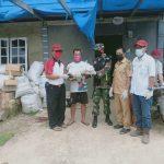 Babinsa Koramil 0911-06/Kry Pastikan Penyaluran Sembako Program BPNT Tepat Sasaran
