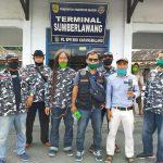 Peduli Covid-19, DPD Sapu jagad Sragen gelar baksos  bagikan Ribuan Hand Sanitizer & masker gratis dipasar Gemolong dan Sumber lawan