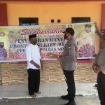 Kapolres AKBP Iwan Irmawan Sik  peduli tempat ibadah di Sinjai  , Ini buktinya !!