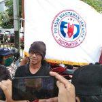 Aksi Damai FWJ Tuntut Balaikota Pemrov DKI Di Masa Pandemi Corona Dan PSBB