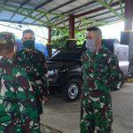 Dandim 1407/ Bone sambangi dan Cek kesiapan personelnya Yang bertugas di Posko PPC 19