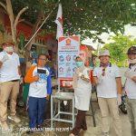 Partai Gerindra kabupaten Mamuju dan DPD Wilayah Sulbar , Peduli Cegah Virus Corona