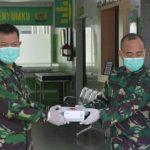 Dukungan Alat kesehatan dari KASAD jenderal TNI Andika perkasa diterima langsung Oleh Dandenkesyah 1407-01/Bone letkol Ckm Dr Haryadi A.M.SP.PD