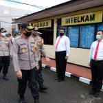 Kapolda Sulsel Awali kunjungannya ke polres Sinjai , untuk pantau kesiapan OPS ketupat 2020 di Sejumlah Polres
