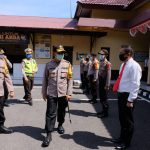 Setelah Bulukumba,Kapolda Sulsel lanjut kunjungan ke Bantaeng, Cek kesiapan operasi ketupat 2020 ,dan pos pam terpadu perbatasan Bantaeng -jeneponto