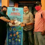 APDESI kab Bone Sulsel kembali serahkan APD untuk kecamatan Sibulue