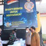 Dapur lapangan TNI-POLRI di Mako Brimob Dikunjungi Walikota Makassar