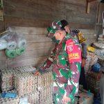 TNI/Polri Dan Satpol PP Kec.Sembakung Laksanakan Grebek Pasar Untuk Antisipasi Kelangkaan Bahan Pokok