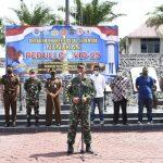 Gerakan Bhakti Sosial Serentak Nunukan Peduli Covid-19 Kembali Digelar di Lanal Nunukan